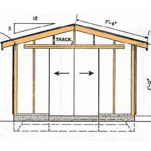 16 x 16 shed plans free storage shed designs 5 features 16x16 deck material list