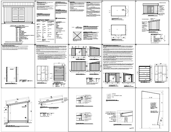 Free 10 X 14 Shed Plans : Shed One Stone Rapid