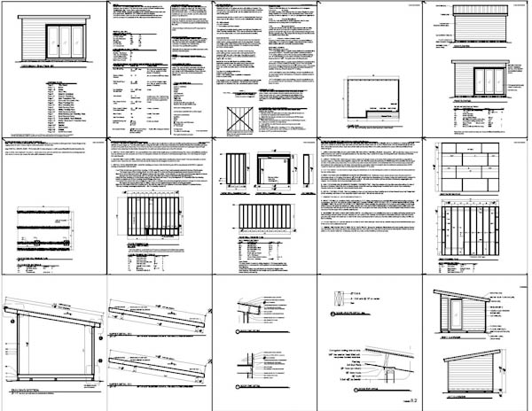 Free 8 X 16 Shed Plans : Construct Your Own Shed By Means Of Free Shed Plans