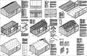 Free Shed Plans 14 X 28
