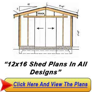 12 X 16 Storage Shed Plans  sc 1 st  trony & 16 x 30 shed plans | trony