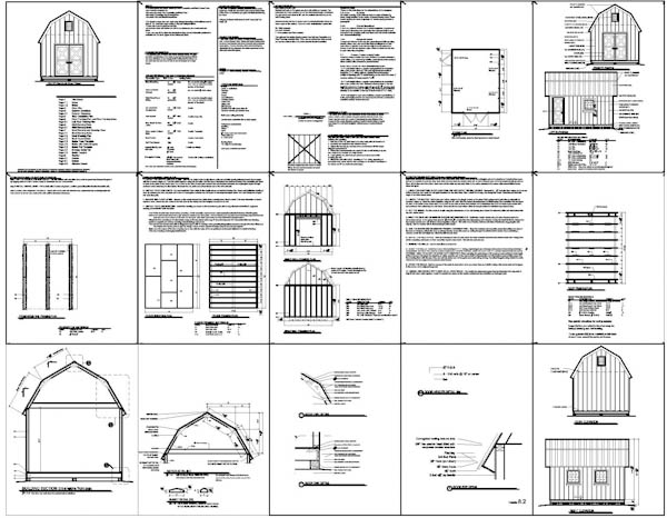Garden Sheds 8 X 16 shed plans 10×16 : garden shed plans – building your own garden