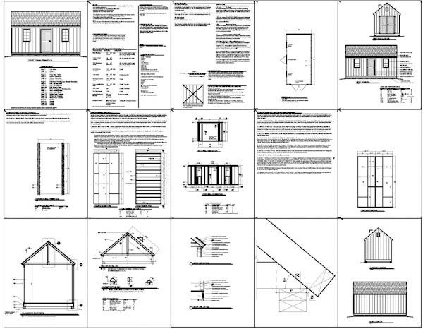Shed Plans 10x20 : Points To Prepare In Case You Strategy To Build A Shed