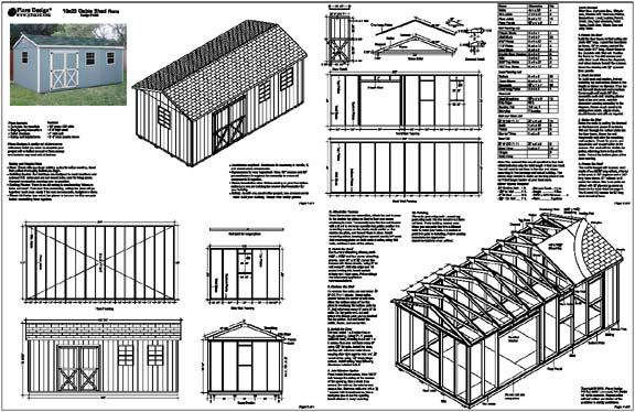 Shed Plans 10×20 : Points To Prepare In Case You Strategy To Build A Shed | Cool Shed Design