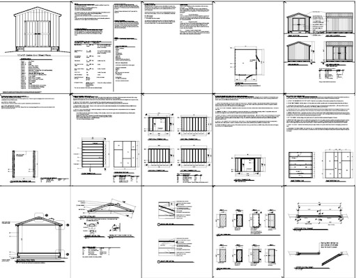 Shed Plans 12×10
