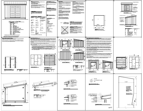 Shed plans 12 12 anyone can build a shed cool shed deisgn for Steel shed plans free