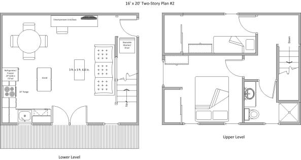 Shed Plans 14×20 Free