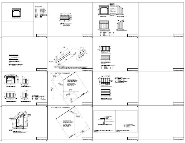 Shed Plans 4 X 8