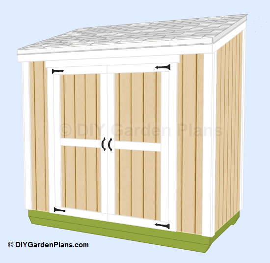 Shed Plans 4 X 8 Free