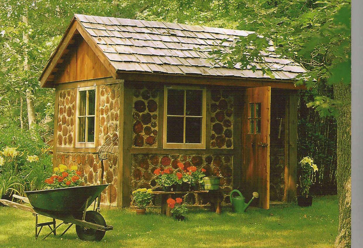 Design Own Garden Shed House