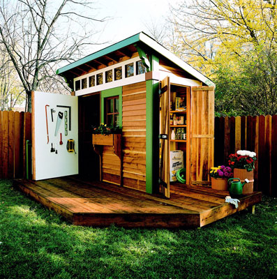 Build Your Own Garden Shed Plans Cool Design