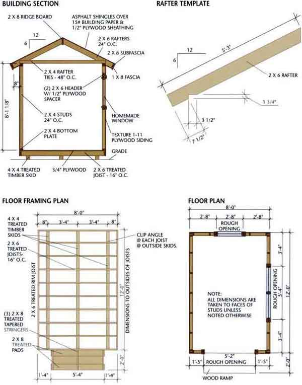 12x8 Storage Shed Plans My Blog About May2018 Calendar